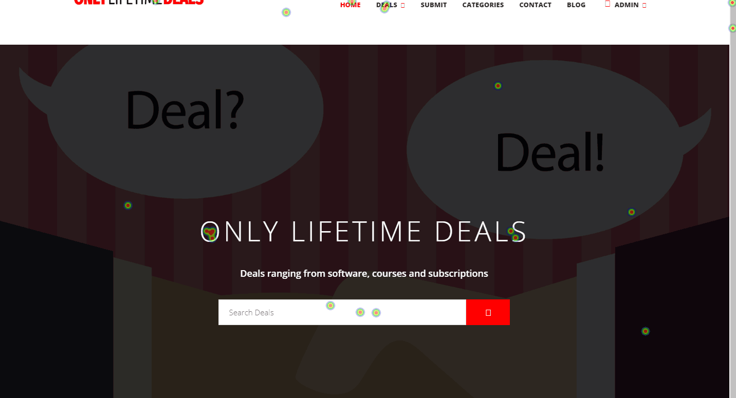 Only Lifetime Deals- HumCommerce Heatmap