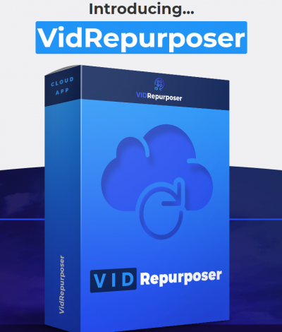 Only Lifetime Deals - Lifetime Deal to VidRepurposer Commercial Header