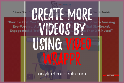 Only Lifetime Deals - CREATE MORE VIDEOS BY USING VIDEO WRAPPR