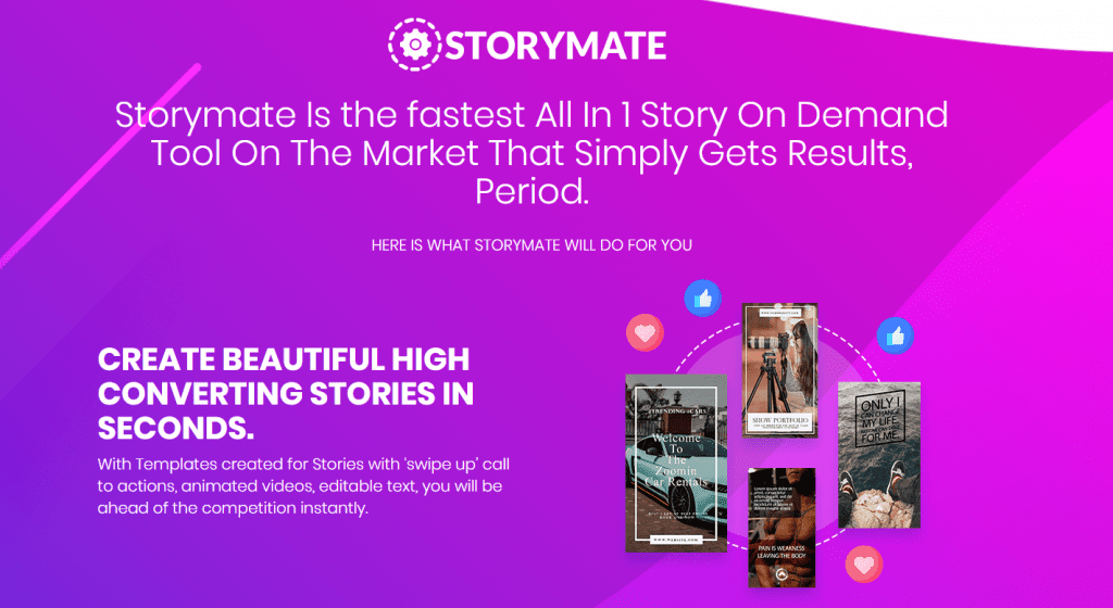 Only Lifetime Deals - Lifetime Deal to StoryMate content