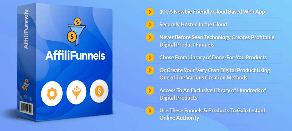 Buy Software Apps - Lifetime Deal to AffiliFunnels header