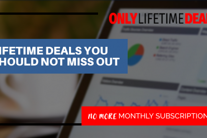 Only Lifetime Deals - LIFETIME DEALS YOU SHOULD NOT MISS OUT header