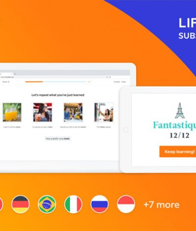 Only Lifetime Deals - Babbel Language Learning: Lifetime Subscription (All Languages) for $159