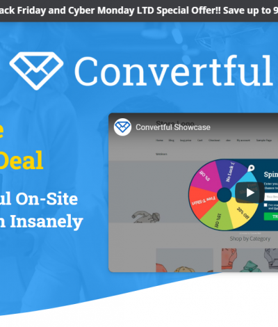 Only Lifetime Deals - Lifetime Deal to Convertful header