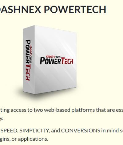 Only Lifetime Deals - Lifetime Deal to DashNex Power Tech header