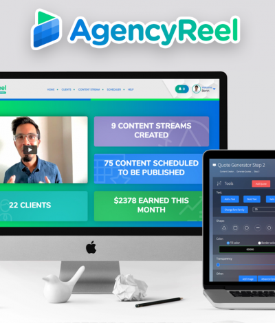 Only Lifetime Deals Lifetime Deal to AgencyReel header