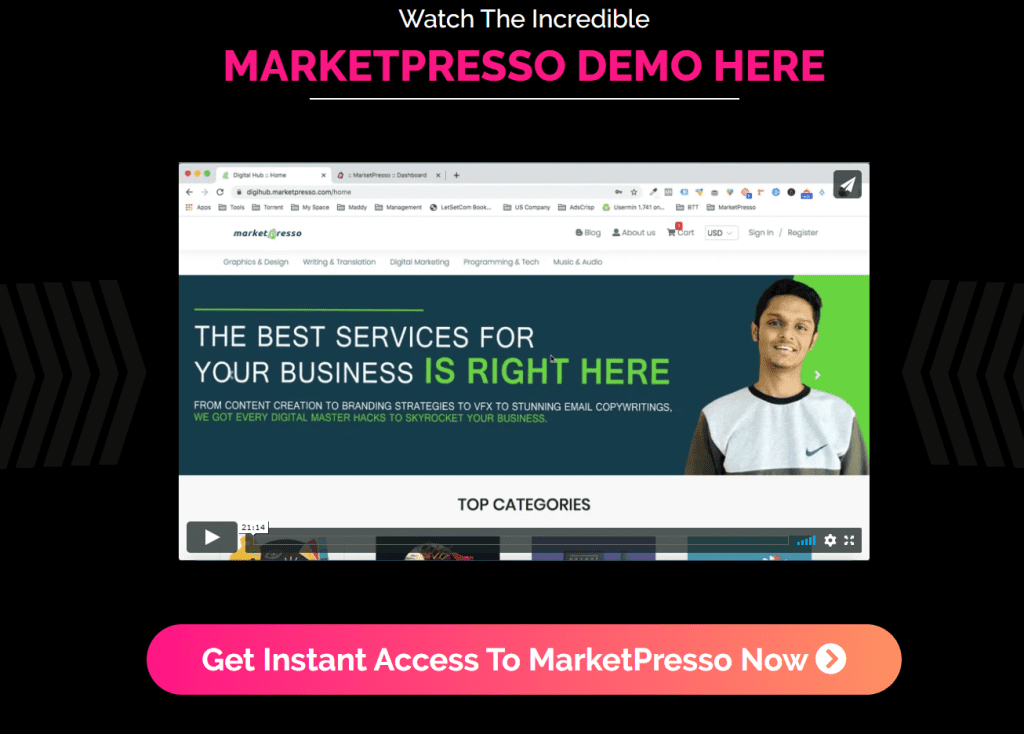 Only Lifetime Deal Lifetime Deal to MarketPresso content 1