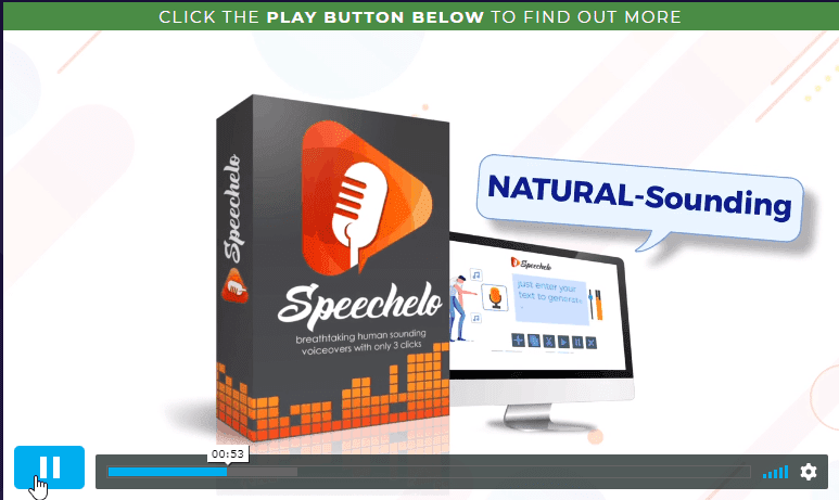 Only LIfetime Deals Lifetime Deal to Speechelo content
