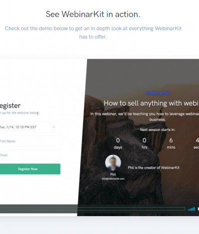 Only Lifetime Deals WebinarKit Lifetime Deal header
