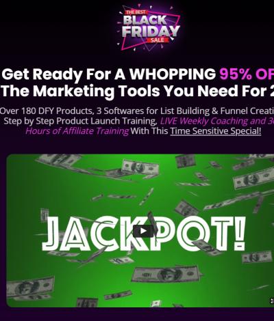Only Lifetime Deals The Best Black Friday Sale header