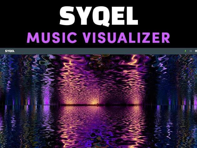 Only Lifetime Deals - SYQEL AI Powered Music Visualizer: Lifetime Subscription (Lite Plan) for $49